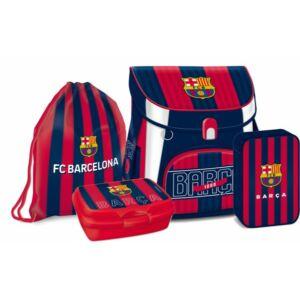 Iskolatáska szett Ars Una FC Barcelona uzsonnás doboz, iskolatáska, tolltartó, tornazsák