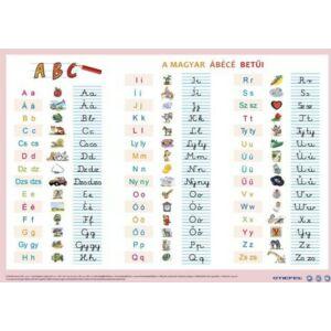 Asztali könyöklő A3 STIEFEL 410x275mm -A3- A magyar ABC betűi Irodai kiegészítők STIEFEL123727K