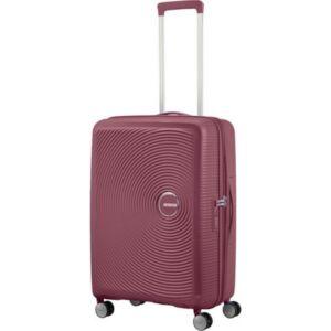 American Tourister bőrönd 67/2 Soundbox 67/24 bővíthető bőrönd 88473/2569 Sötét Burgundy, 4 kerekű
