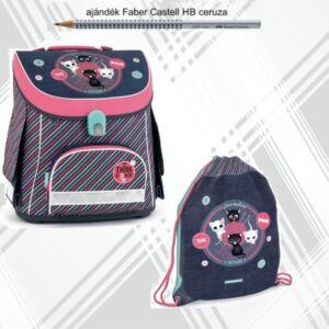 Ars Una iskolatáska szett 21' iskolatáska, tornazsák Think-pink