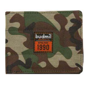 Budmil pénztárca 20 Gary 11, 5x9cm Khaky/keki