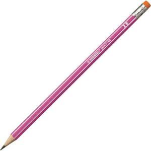 Ceruza 2B Stabilo Pencil 160 hatszögletű rózsaszín - radíros Stabilo grafitceruza 2160-01/2B