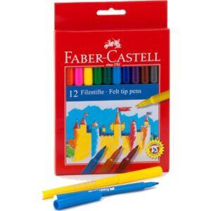 Faber-Castell filckészlet 12db rostiron 554212 554212