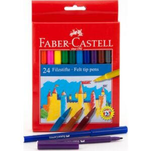 Faber-Castell filckészlet 24db -os rostiron 554224 554224