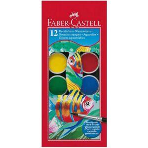 Faber-Castell vízfesték 12db 30mm-es. vízbázisú festék prémium minőségű termék