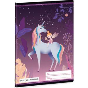 Füzet 27-32 A5 kockás Ars Una Magic Forest (5045) 21 Prémium minőségű füzet