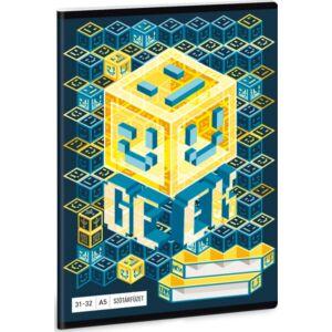 Füzet 31-32 A5 szótár Ars Una Geek - Kocka 19 prámium füzet