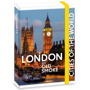 Füzetboxgumis A5 világváros Cities of the Világ városai London 16' dosszié Ars Una kollekció