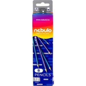 Grafitceruza B Nebulo háromszögletű NEBULO