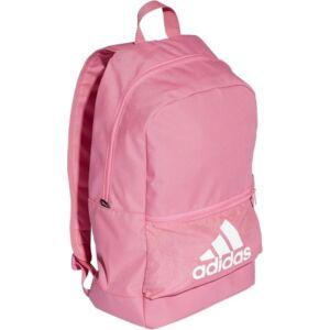 Hátizsák Adidas rózsaszín színű, fehér márkajelzéssel DT2630 CLASSIC BP BOS