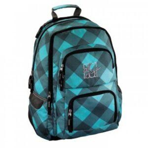 Hátizsák Hama iskolai háti All Out Louth Blue Dream Check kék Hama kollekció !