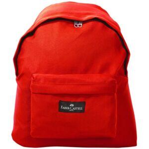 Faber-Castell Hátizsák collage colour piros színben hátizsák prémium minőségű termék
