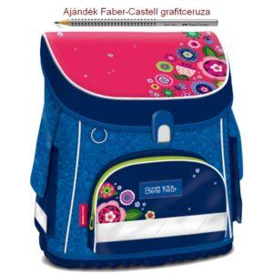 Iskolatáska Ars Una kompakt BELLE FLEUR 805 virágos kompakt mágneszáras Prémium kollekció
