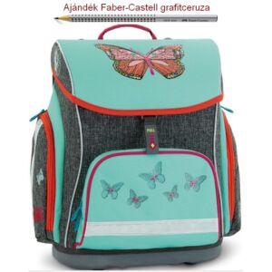 Iskolatáska Ars Una kompakt Butterfly - Pillangós 19 kompakt mágneszáras prémium minőség