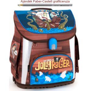 Iskolatáska Ars Una kompakt Jolly Roger 806 kompakt mágneszáras Prémium kollekció