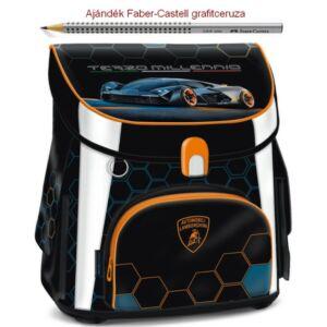 Iskolatáska Ars Una kompakt Lamborghini, autó 19 kompakt mágneszáras Prémium kollekció