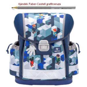 Iskolatáska Belmil ergonómikus 21' Classy anatómiai hátizsák Minecraft 403-13 36x32x19 kb. 19l - 900g