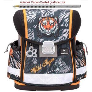 Iskolatáska Belmil ergonómikus 21' Classy anatómiai hátizsák Wild Tiger 403-13 36x32x19 kb. 19l - 900g