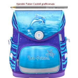 Iskolatáska Belmil ergonómikus 21' Compact anatómiai hátizsák Dolphin 405-41 30.5x37x19cm kb. 19l - 920-1050g