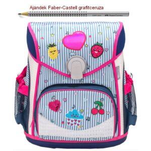 Iskolatáska Belmil ergonómikus 21' Cool Bag Patch Mania 405-42 35x28x23cm kb. 19l - 1000g