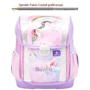 Iskolatáska Belmil ergonómikus 21' Customize-Me  Rainbow Unicorn 404-20 37x31x17cm kb. 19l - 1060-1100g