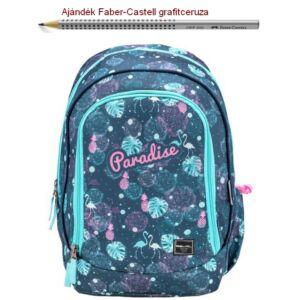 Iskolatáska Belmil ergonómikus 21' Pack It  Paradise 338-79 43x27x19cm kb. 19l 480-505g