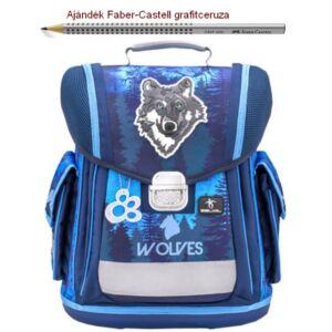 Iskolatáska Belmil ergonómikus 21' Sporty Mountain Wolf 404-5 38x32x21cm kb. 22l - 950-1000g