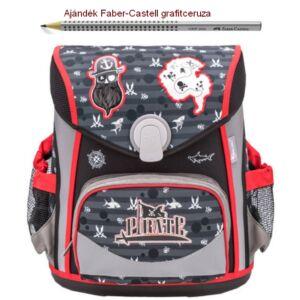 Iskolatáska Belmil ergonómikus Cool Bag Pirates 405-42 35x28x23cm kb. 19l - 1000g