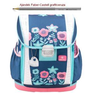 Iskolatáska Belmil ergonómikus Customize-Me Floral 404-20 37x31x17cm kb. 19l - 1060-1100g