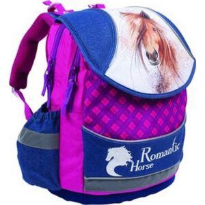 Iskolatáska ergonómikus KPP HORSE / LOVAS mérete: 350X400X180