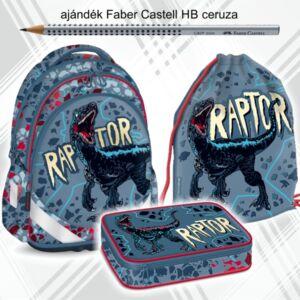 Iskolatáska szett Ars Una 21' Raptor iskolatáska,tornazsák,tolltartó