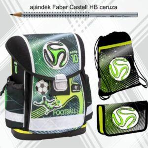 Iskolatáska szett Belmil 21' iskolatáska tolltartó tornazsák Football Player