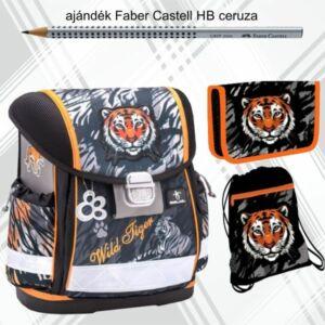 Iskolatáska szett Belmil 21' Wild Tiger iskolatáska tolltartó tornazsák
