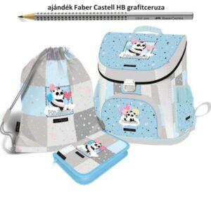 Iskolatáska szett Lizzy Lollipop-Pandacorn 21' táska+tolltaró+tornazsák Lizzy kollekció