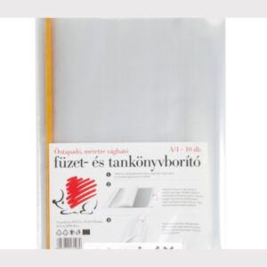 Könyvborító nagy öntapadós 10db/csomag öntapadós tankönyv és füzetborító kollekció