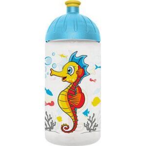 Kulacs Freewater műanyag 500ml Csikóhal, átlátszó Iskolaszerek Freewater 0505022