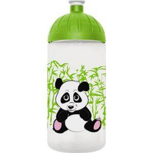Kulacs Freewater műanyag 500ml Panda, átlátszó Iskolaszerek Freewater 0505020