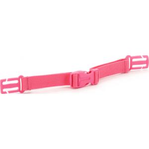 Mellkaspánt Ars Una rózsaszín állítható hossz mérettel, iskolatáskához prémium minőség