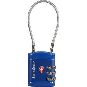 Samsonite biztonsági lakat Travell Accessor cablelock 3 dial tsa 121296/1549 Éjkék