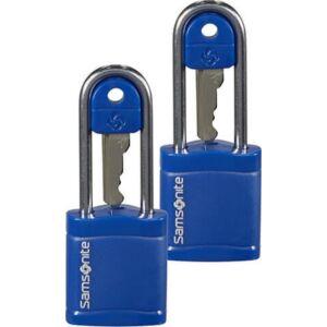 Samsonite biztonsági lakat Travell Accessor key lock x2 121298/1549 Éjkék