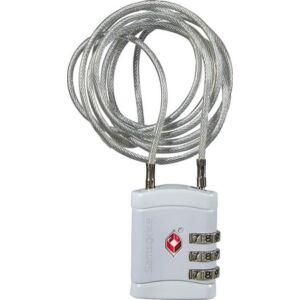 Samsonite biztonsági lakat Travell Accessor long cablelock tsa 121300/1003 Alu