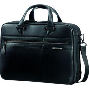 Samsonite bőr laptoptáska Formalite LTH 42x30,5x19 1,2kg 86454/1041 fekete irattáska