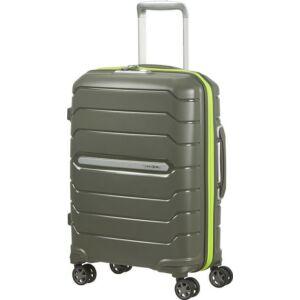 Samsonite bőrönd 68/25 Flux 4kerekű bővíthető 88538/1266 Sötét Oliva 5 év garancia