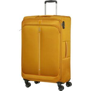 Samsonite bőrönd 78/29 exp Popsoda spinner 4 kerekű 123539/1924 Sárga
