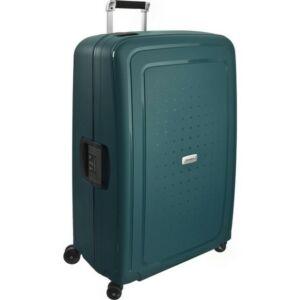 Samsonite bőrönd 81/30 S'CURE DLX 4kerekű bőrönd U44x004 59237/1542_04 Metallic Green zöl