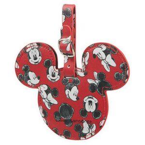 Samsonite bőröndcímke Global Ta Disney id tag 122310/7924 Mickey/Minnie, piros