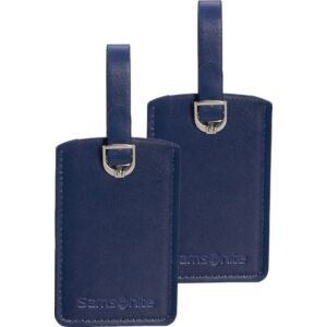 Samsonite bőröndcímke rectangle Luggage tag x2 121307/1549 Éjkék