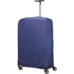 Samsonite bőröndhuzat L/M foldable Luggage cover 121223/1549 Éjkék