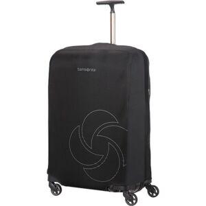 Samsonite bőröndhuzat M foldable Luggage cover 121224/1041 Fekete