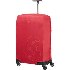 Samsonite bőröndhuzat M foldable Luggage cover 121224/1726 Piros